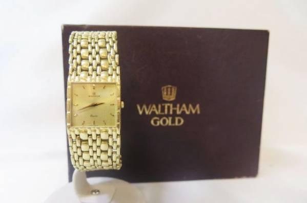 ウォルサム 金無垢時計 買取ならゴールディーズ前橋店