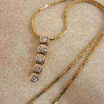 埼玉県熊谷市、寄居、妻沼、行田、秩父でのダイヤモンド ネックレスの買取ならゴールディーズ熊谷店へ!!