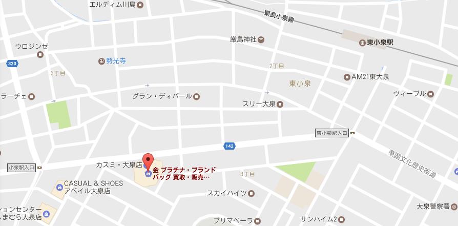 大泉店地図