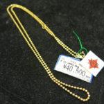 【新着情報】ゴールディーズ熊谷店ではK18 ボールチェーンネックレスが新しく入荷しました!もちろん買取も大募集しておりますのでお気軽にお持ちください!