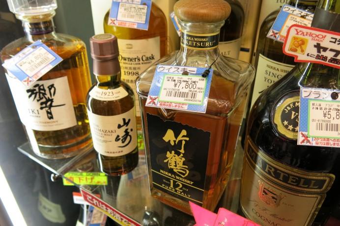 群馬 前橋 荒牧 ドンドン 買取 販売 酒 国産酒 ニッカ ウイスキー ウィスキー 竹鶴 12年 ピュアモルト
