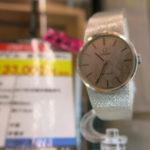OMEGA★オメガ デビル K18WG金無垢のレディース腕時計、88,000円で買取させて頂きました!店頭にて販売させていただきます!毎週水曜日にお買い上げなら、表示価格より3%OFF!!腕時計買うなら値下がり水曜日!!