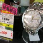 タグホイヤー/TAG Heuer 自動巻き クロノメーター WG5113 新入荷しました!前橋市ゴールディーズ前橋店で時計の電池交換、時計のメンテナンス引き受けます!
