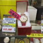 ゴールディーズ熊谷店から、おすすめの腕時計を紹介いたします!
