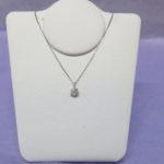 PT850(プラチナ850)ダイヤモンド0.20ctのネックレスをお買取りしました♪