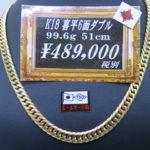 大人気!喜平6面 重量感たっぷりのネックレスが入荷しました!!