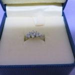 PT900 ダイヤモンドリングが入荷しています!!