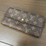 Louis Vuitton(ルイヴィトン)モノグラム ポルトフォイユサラ 旧型  3000円でお買取致しました!