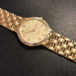JUVENIA K18 クオーツの腕時計(ジャンク品)を10万円でお買取致しました♪