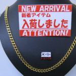 ゴールディーズ本庄店からの新着情報!K18 喜平2面 78.7g 60cmが入荷しました!