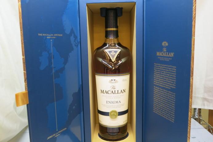 輸入酒 マッカラン エニグマ ウイスキー MACALLAN 買取 販売