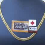 ゴールディーズ本庄店より新入荷商品のお知らせ!K18 喜平ネックレス 50.3gが入荷しました!
