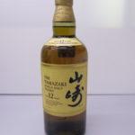 国産ウイスキー山崎12年シングルモルトさらに 値下げいたしました!販売中!