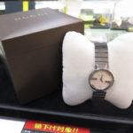 グッチ シェル文字盤 2P 133.5 腕時計入荷しました☆ゴールディーズ太田店