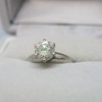 ダイヤモンドリング 1.66ct 入荷しました!1.66カラットのダイヤリングのお買取りしました!