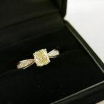 イエローダイヤ ダイヤリング 1.213ct 入荷いたしました!カラーダイヤもゴールディーズ前橋店にお任せください。