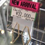 K18 0.2ct ダイヤ ピアスが新入荷致しました!ゴールディーズ太田店