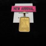 【おすすめ商品のご案内♪】K24/14Kコンビペンダントトップ自由の女神が入荷致しました!