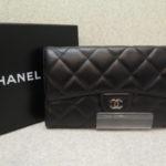 【!新着情報!】CHANEL(シャネル)マトラッセ ラムスキン 三つ折り長財布が新しく入荷されました♪