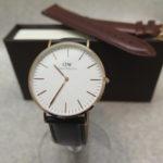 【大人気】腕時計ダニウェルウェリントンClassic Sheffield 0107DWが入荷しました!