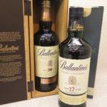 【ウイスキー】バランタイン 17年とベリーレア30年箱付きが新しく入荷しました!