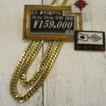 K18 18金 喜平ネックレス 6面 男性用ネックレス 入荷しました!探されていた方はゴールディーズ本庄店まで!